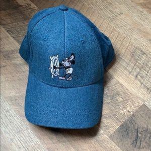 Disney Steamboat Willie Embroidered Denim Hat